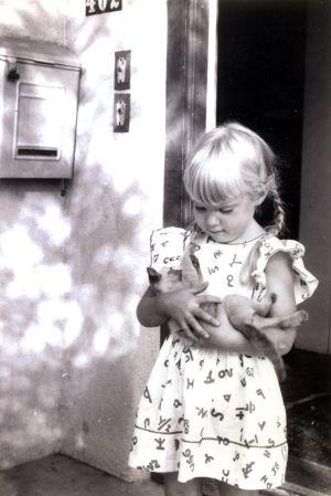 Marilyn Cosho-age 4